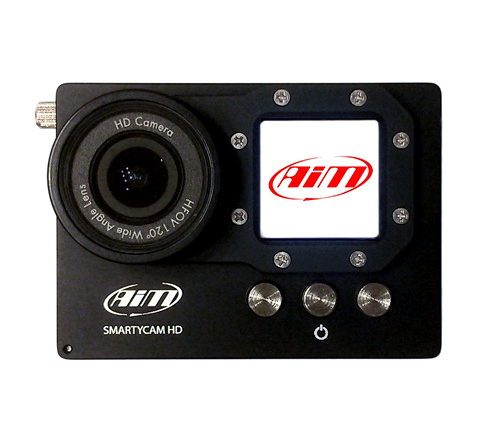 aim smartycam hd front view