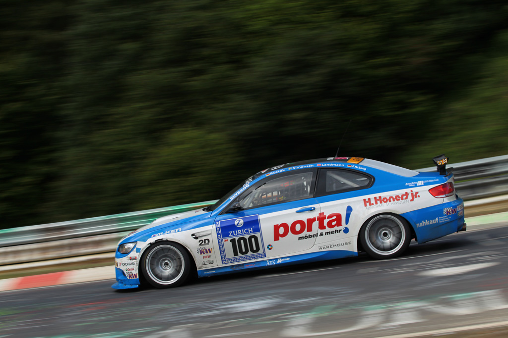 kw competition equipped bmw e92 race car